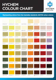 Upg Paint Color Chart Hychem Epoxy Colour Chart Hychem Construction Resins