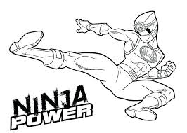 Power Ranger Coloring Pages Power Rangers Coloring Pages Ninja Page