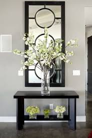 mirror and table for foyer. The Small, Insignificant Ones Underneath Aren\u0027t Very Imaginative.Anything, Or Nothing Would Have Made A Better Statement To Me.mirror Entry Way Table Mirror And For Foyer