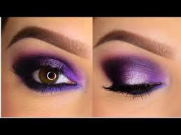 purple smokey eye tutorial you