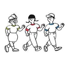 Lineスタンプ体操服の3人 40種類 120円