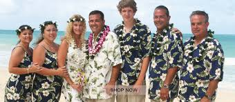 How To Uniquely Wear Hawaiian Clothing On Your Vacation Hawaiian Wedding Suit