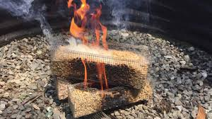 we tried repose fire logs wood pellet burning reusable firewood