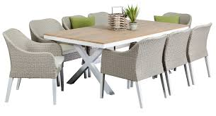 outdoor table and chairs. Maine 8 Seater, Outdoor Dining Furniture, Settings, Table And Chairs E
