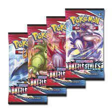 Combo 6 Pack Lẻ Pokemon TCG Sword & Shield Battle Styles Chính Hãng Mới  100% giá cạnh tranh