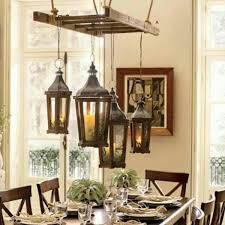 Rustic Home Lighting Vintage Old Ladder Hanging For Light Fixtures Chandelier Perfect Cottage Style Rustic Home Lighting