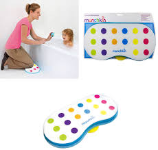 bath kneeler cushion knee support baby bathing washing munchkin