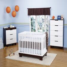 babyletto modo  in  convertible crib nursery set in white
