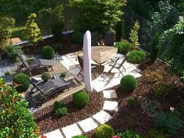 modern garden design sample