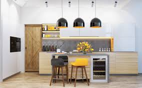 Yellow Kitchen Floor Design A Yellow Themed Kitchen Yellow And Gray Kitchen Ideas