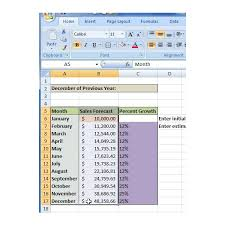 Sales Projection Format In Excel How To Create A Sales Forecast In Excel Free Excel Sales