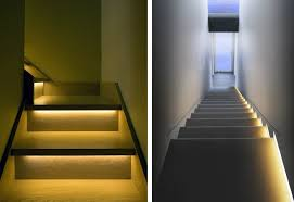 place along stairs or steps to prevent accidents led strip lighting