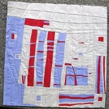 Free-form Patchwork Mini Art Quilt | FaveQuilts.com & Free-form Patchwork Mini Quilt Adamdwight.com