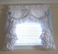 image of country ruffled curtains catalog