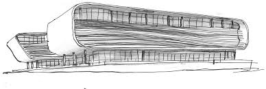 simple architectural sketches. Beautiful Architectural Architectural Buildings Sketches Sketch Architecture Company Afgri  Headquarters Building In South Africa By Paragon On Simple Architectural Sketches