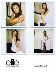What Is A Comp Card Jaslene Comp Card Elite Fashion Bomb Daily Style Magazine