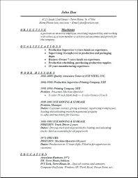 Machinist Resume Template Machinist Resume Template Machinist Resume Example Examples Of Best 8