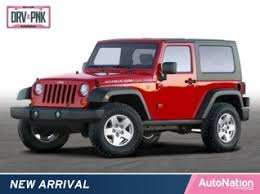 used 2008 jeep wrangler 4wd 2dr x in peoria az