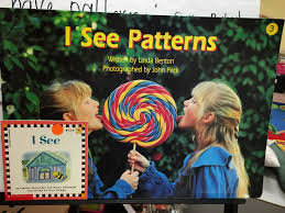 the first day of this launch was spent exploring diffe pattern books such as i see patterns and this is what we noticed