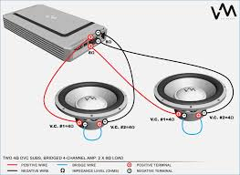 4 ohm dual voice coil wiring diagram wagnerdesign co how to wire 2 4ohm subs to 4 ohms 4 ohm dual voice coil wiring diagram in two dvc subs bridged for, 4 ohm