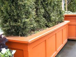 privacy planter privacy fence planter boxes privacy planter screens diy  privacy planter box