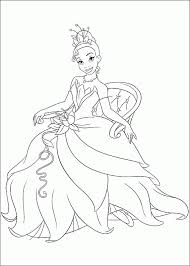 Small Picture Disney Princess Tiana Coloring Pages DIY printables Pinterest