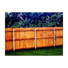 concrete posts for best wood for fence posts install wood fence post without concrete how