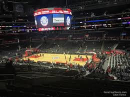 Staples Center Premier Seating Chart Staples Center Premier 3 Clippers Lakers Rateyourseats Com