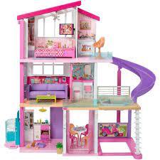 Barbie Dreamhouse Dollhouse With Pool Slide And Elevator Walmart Com Walmart Com