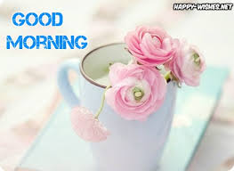 good morning wishes with lovely rose pictures