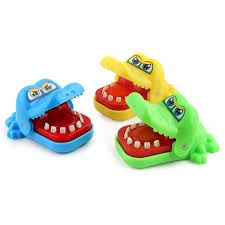 small size mouth dentist bite finger game funny play kids gift educational novelties toys