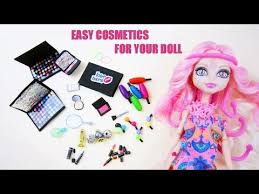 make doll make up shadow blush pact lipstick eye liner mascara perfume nail polish duration 7 51 min