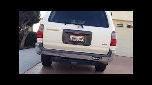 Flowmaster Muffler on 1999 Toyota 4Runner - YouTube
