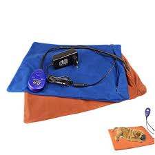 <b>Dogs Winter Pet</b> Heating Pad Electric Warming Mat 7 Grade Temp ...