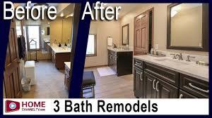 Floor And Bath Design Bathroom Remodeling 3 Baths Get A Complete Remodel Bathroom Design Ideas