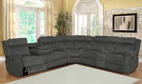 reclining sectional grey.  Reclining Sectional Sofa Sets On Reclining Grey