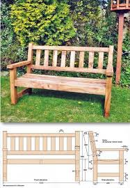 garden bench plans. Perfect Bench Build Garden Bench  Outdoor Furniture Plans And Projects   WoodArchivistcom On A