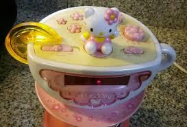 Hello Kitty Digital Am Fm Clock Radio With Night Light Hello Kitty Digital Alarm Clock Am Fm Radio Night Light 2 000 00