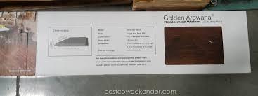 golden arowana reclaimed walnut luxury vinyl plank waterproof performance and the look of real wood