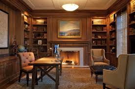 fancy home office. Library Home Office Beautiful Decor Idea Decosee Fancy