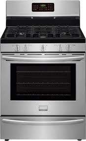 frigidaire fggfr inch gas range effortless convection frigidaire fggf3058r 30 inch gas range effortless convection temperature probe one touch self clean 5 sealed burners 5 0 cu ft