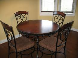wrought iron base dining room table dining tables