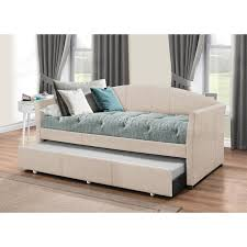 upholstered daybed with trundle. Exellent Trundle Alvina Upholstered Daybed With Trundle Inside With C