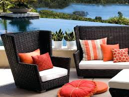 comfortable patio furniture. Patio Blackish Brown Square Modern Rattan Comfortable Furniture Stained Design For Home Depot Outdoor W
