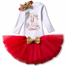 2019 Winter Baby First Birthday Cake Smash Outfits Sets Tutu My