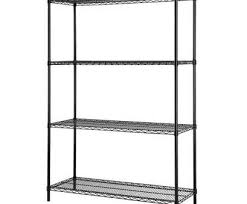 chrome wire shelving nice excel es 481860p certified multi purpose 4 tier