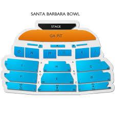 Sb Bowl Seating Chart Correct Santa Barbara Bowl Seating Chart With Seat Numbers