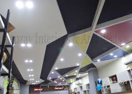 office ceiling designs. Aenzay Office \u2013 Ceiling Design. Aenzay Interiors, Interior Design,  Design Lahore, Commercial Ceiling Designs O
