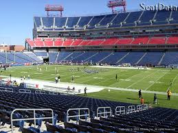 Nissan Stadium Seating Chart With Rows Nissan Stadium Section 233 Tennessee Titans