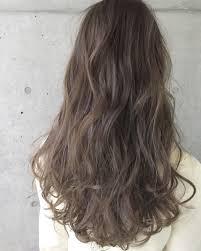 外国人風カラーミルクティーベージュ Hairstyle2019 ヘア